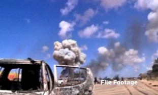Libyan rebels make a move toward Tripoli.
