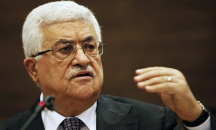 PA President Mahmoud Abbas at the United Nations