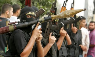 Islamic Jihad terrorists in Gaza