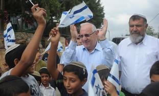MK Reuven Rivilin visits Itamar