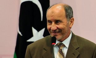 Mustafa Abdel Jalil, chairman of the Libyan NTC