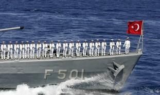 Turkish naval ship Bodrum (illustrative)