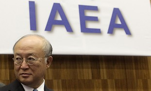 IAEA Director General Yukiya Amano