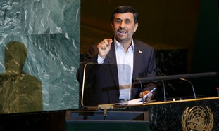 Iran's Ahmadinejad at UN General Assembly