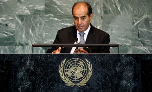 De facto Libyan PM Jibril addresses UNGA