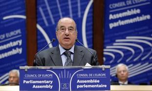 Salim al-Zanoun, speaker of the PNC addresses PACE