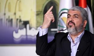 Hamas leader in Damascus Khaled Mashaal