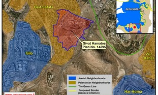 New e. J'lem neighborhood planned in Givat Hamatos