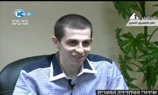Gilad Schalit interviewed on Egyptian TV