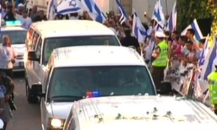 Convoy carries Gilad Schalit to Mitzpe Hila home