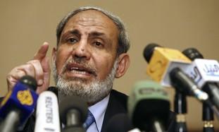 Hamas leader Mahmoud Zahar