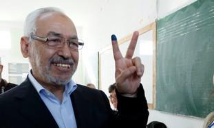 Rached Ghannouchi, head of Tunisia's Ennahda party