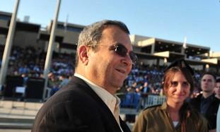 Defense Minister Barak at IDF officers' graduation