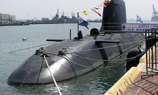 Dolphin-class Navy submarine