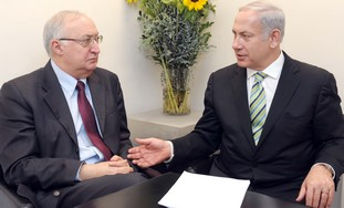 Prime Minister Netanyahu with Trajtenberg