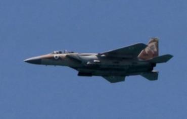 IAF F15 fighter jet (Illustrative)