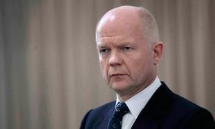 UK Foreign Secretary William Hague [file]