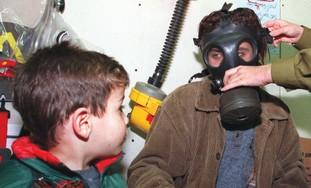 Gas masks (illustrative)