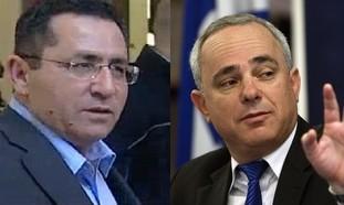 Histadrut Chairman Eini, Finance Minister Steinitz
