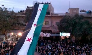 Demonstrations against Syria's President Bashar
