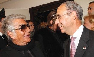 ITALIAN AMBASSADOR Luigi Mattiolo, Roberto Cavalli