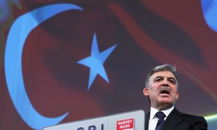 Turkish President Abdullah Gul.