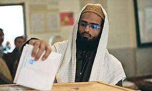 Arab voting