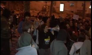 Social justice protest in Tel Aviv