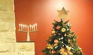 Star of David tree-topper