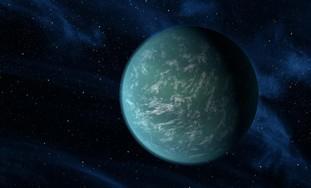 Artist's rendition of Kepler-B planet