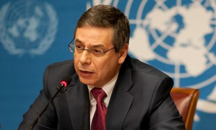 Deputy Foreign Minister Danny Ayalon at UNHCR