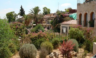 Hillside homes of Yemin Moshe