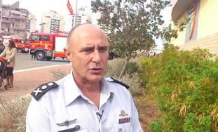 Fire Service Commissioner Shahar Ayalon