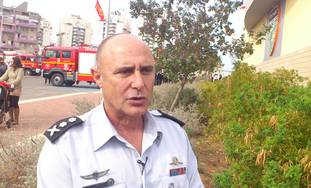 Fire Service Commissioner Shahar Ayalon