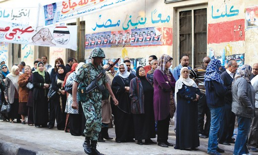 Egyptian elections in Cairo, November 28