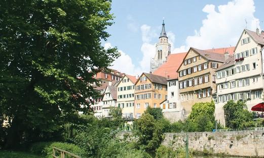 German town of Tübingen