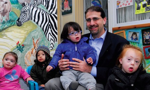 US envoy Dan Shapiro, Shalva Youngsters_