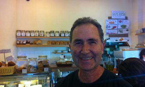 Barry Sibul at the Village Green Restaurant