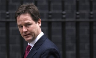 UK Deputy PM Nick Clegg