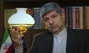 Iran Foreign Ministry Spokesman Ramin Mehmanparast
