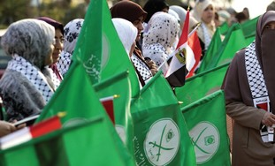 Muslim Brotherhood supporters in Egypt