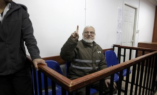 Hamas official Dweik in military court