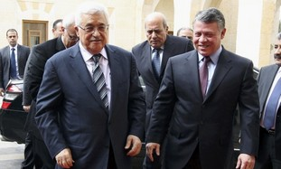 PA president Abbas, Jordan King Abdullah II