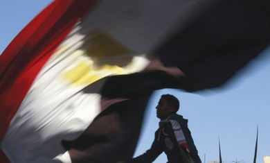 First anniversary of Egypt's uprising in Tahrir