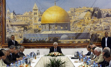PA's Abbas heads meeting of PLO Executive  C'tee