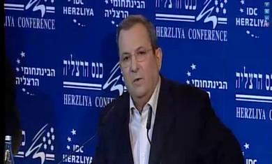 Def. Minister Barak speaks at Herzliya Conference