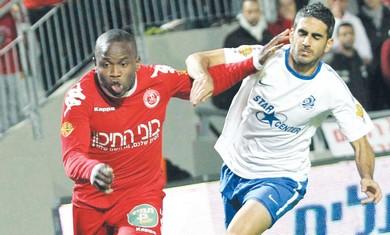 HAPOEL TEL AVIV striker Toto Tamuz