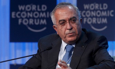 Palestinian Authority PM Salam Fayyad