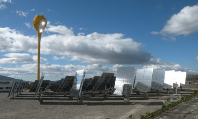 AORA 'power flower' solar thermal power station