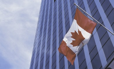 Canadian flag [illustrative photo]